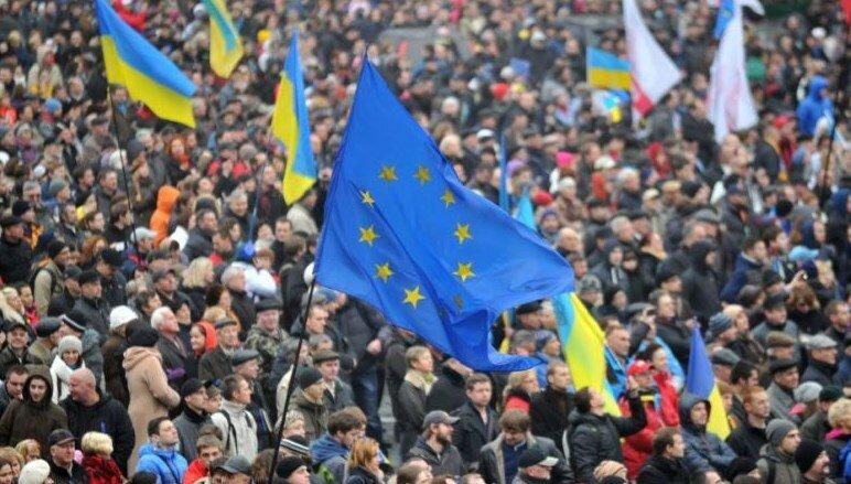 митинг майдан украина ес