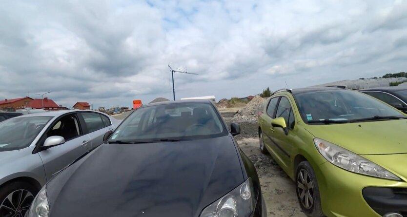 Пригнанные авто из-за границы, авто из-за границы в украине