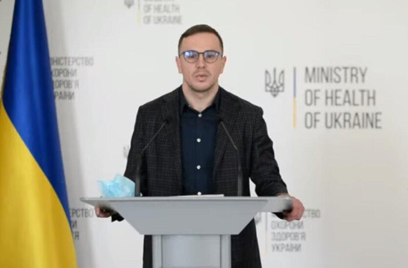 Заместитель министра здравоохранения Украины Игорь Иващенко