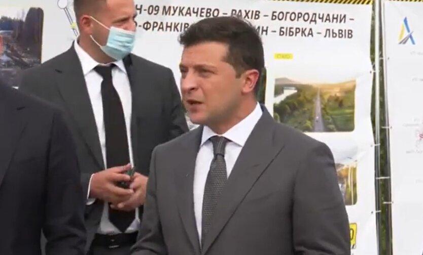 Владимир Зеленский, выборы в Украине, опрос