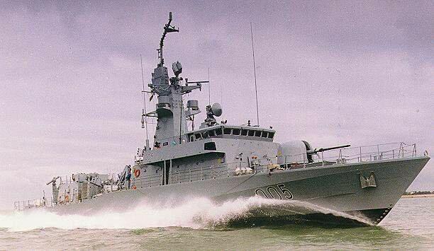 ракетный катер типа Barzan