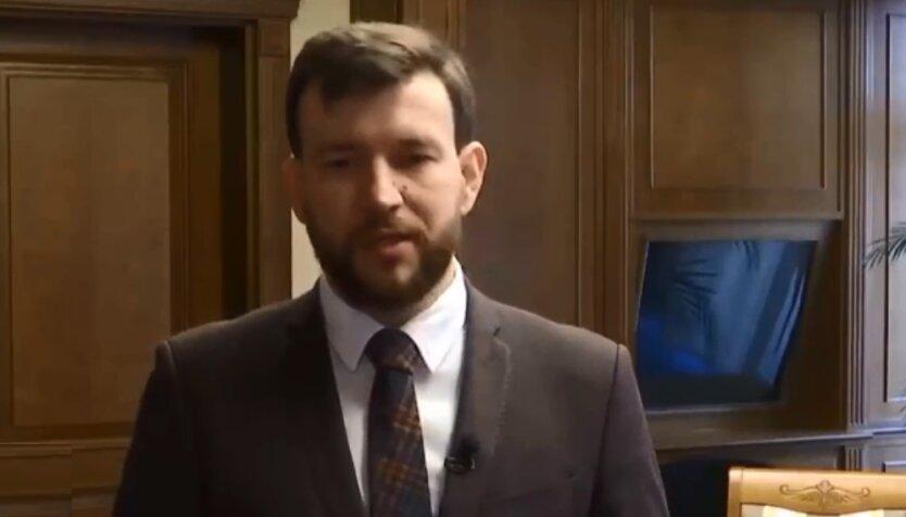 Первый заместитель министра финансов Украины Денис Улютин