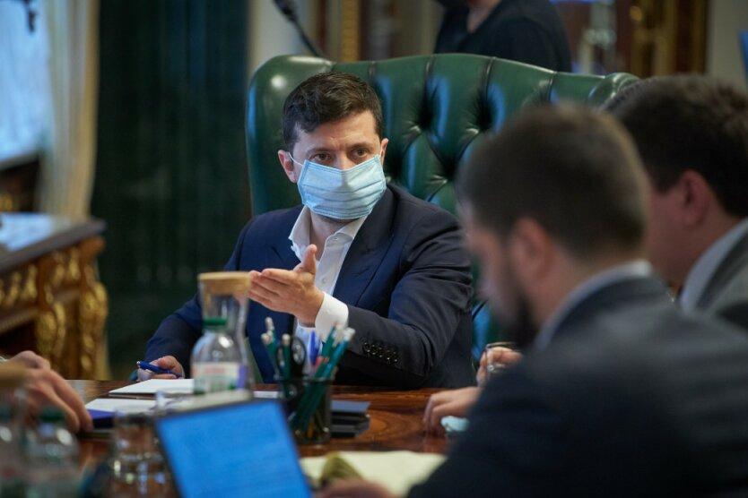 Президент Украины Владимир Зеленский, Зеленский хотел заразиться коронавирусом