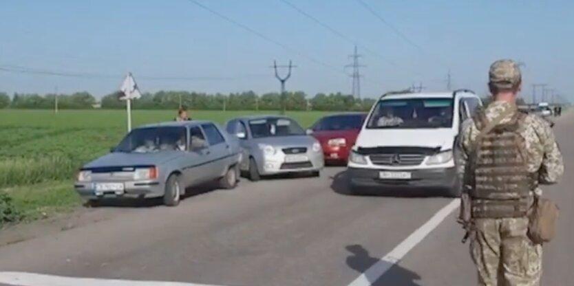 КПВВ на Донбассе, Мариинка