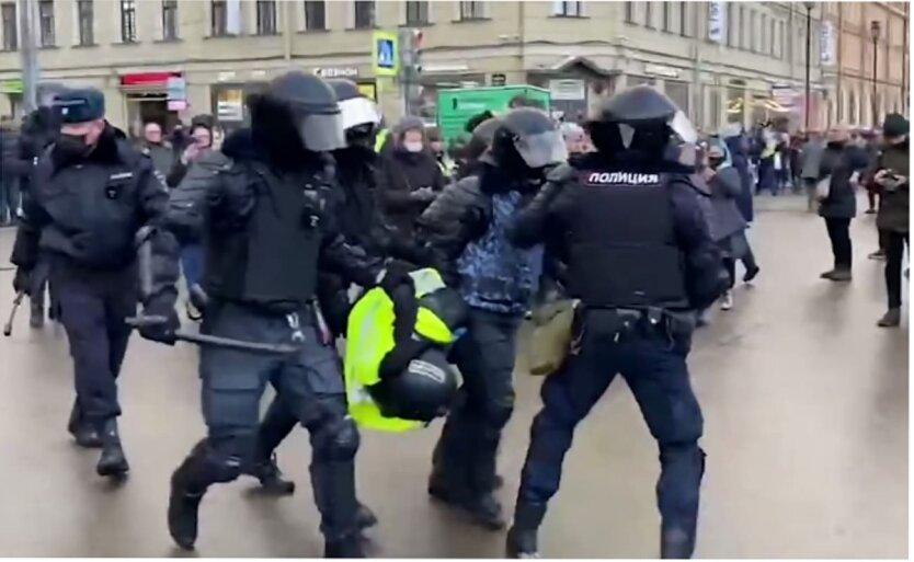 Задержания в России, Протесты в России, Алексей Навальный