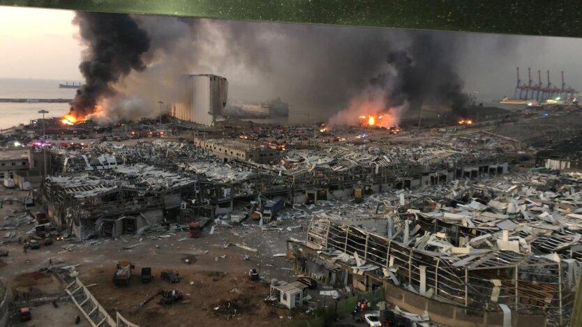 Масштабный взрыв в Бейруте: данные о жертвах и версии происшествия