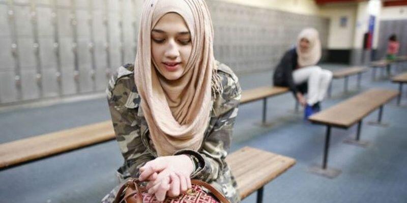 хиджаб в армии