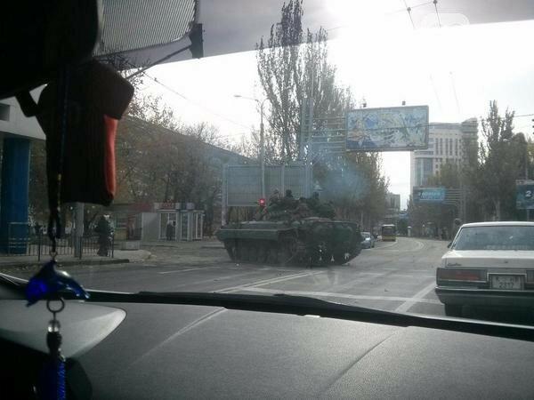 Донецк_дорога к аэропорту