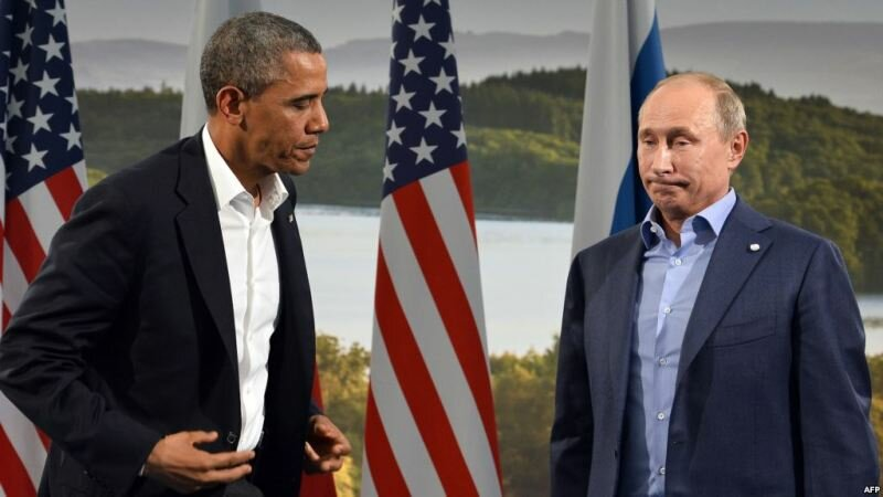 Обама_Путин
