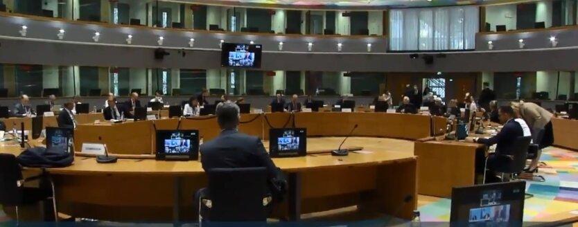 Видеоконференции  с министрами иностранных дел стран ЕС