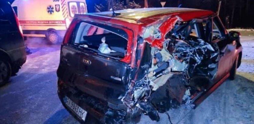 ДТП в Киеве, пьяный таксист