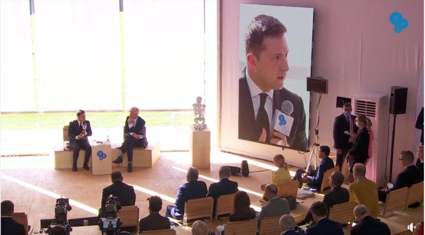 Владимир Зеленский на форуме YES 2021 года