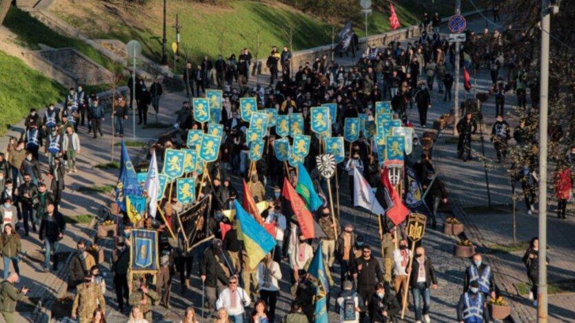 "Марш, дивизия ""Галичина"", Киев"