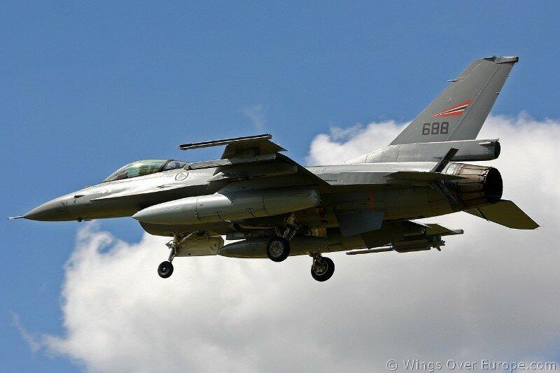 F-16_Норвегия