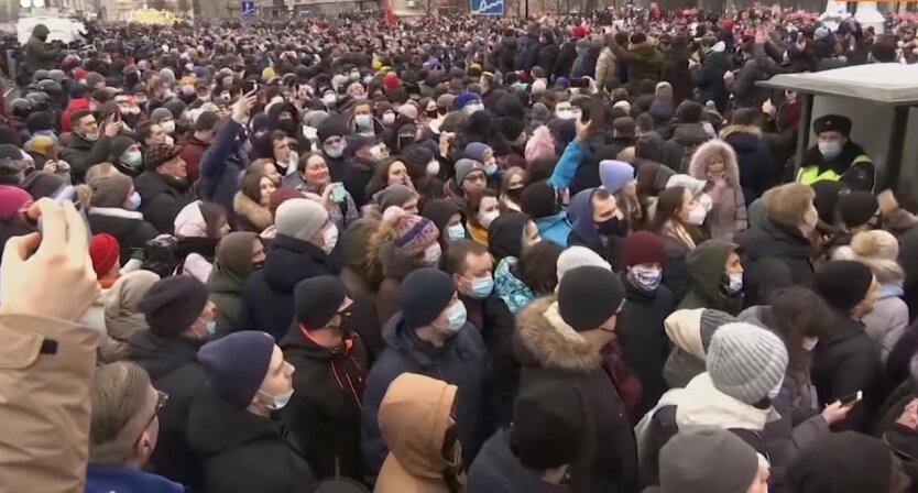Протесты в России, Алексей Навальный, Маргарита Юдина, Сергей Музыка