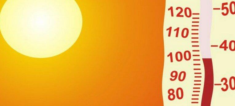 лето жара гидром солнце градус