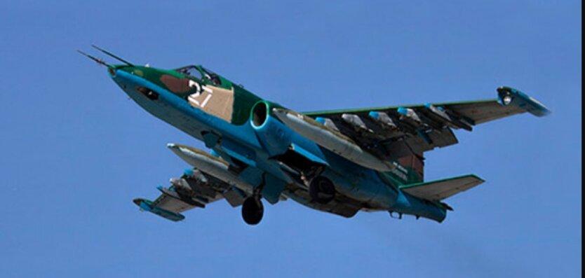 Турецкий F-16 сбил СУ-25 ВВС Армении