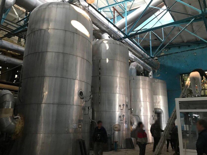 Под Киевом взорвался сахарный завод, есть пострадавшие