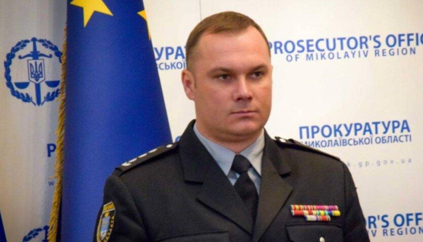 Иван Выговский, нацполиция