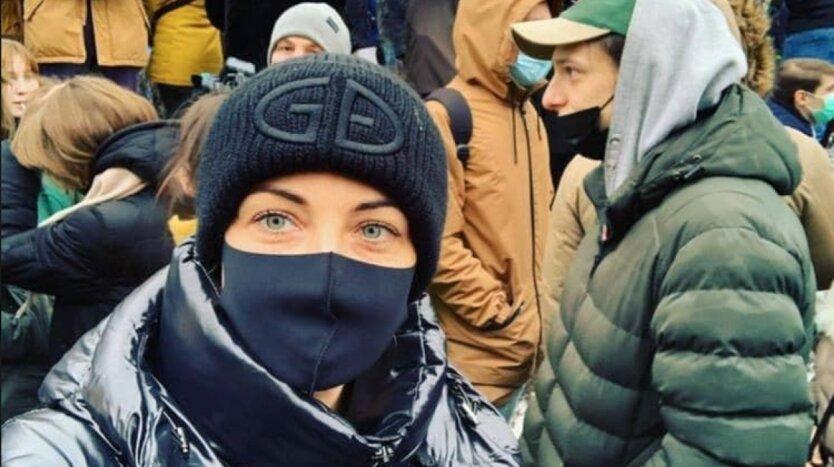 Юлия Навальная, навальный путин, протесты в москве