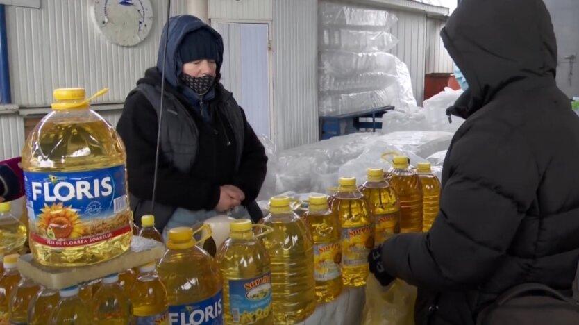 Подсолнечное масло, Украина, производство