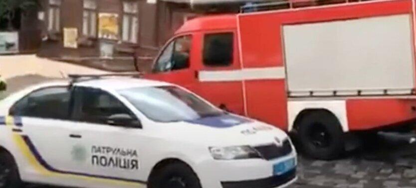 Взрыв в Киеве, полиция