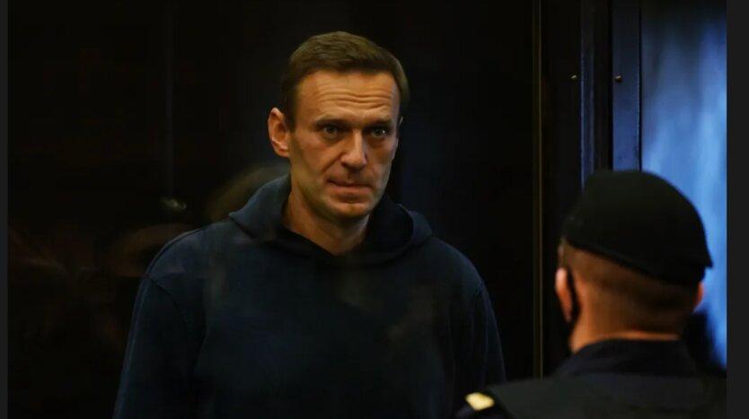 Алексей Навальный на суде