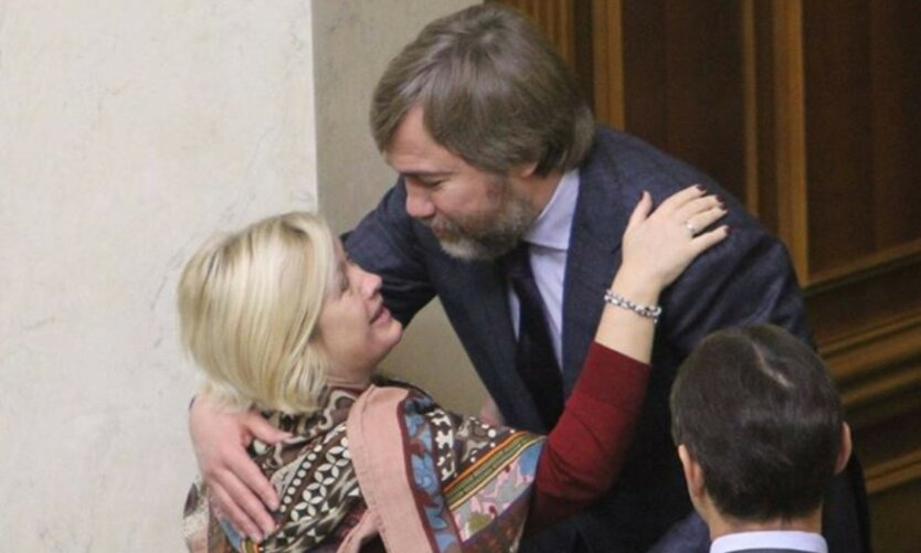 """Геращенко со своим """"непримиримым врагом"""" Новинским, реалии украинской политики"""