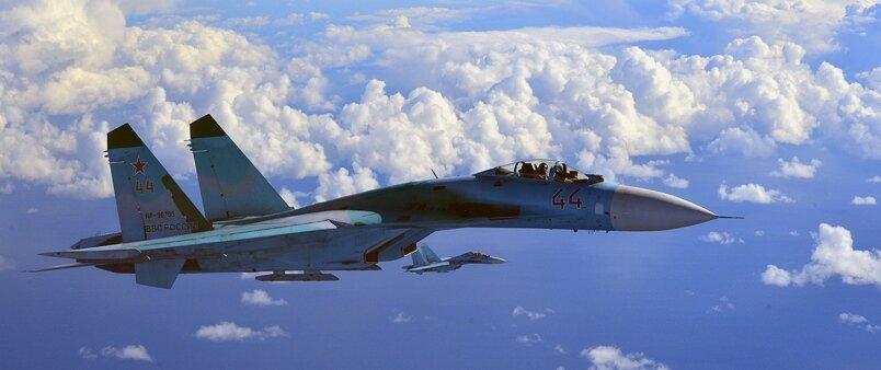 Су-27 ВВС России