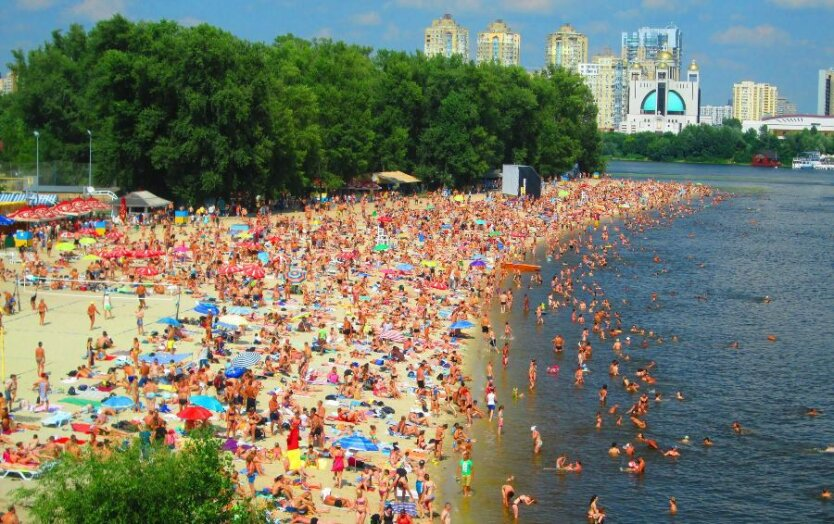 Киев_пляж