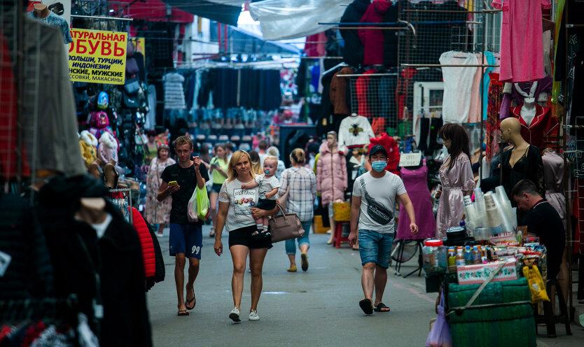 Рынок Барабашово, Харьков. Фото - Константин Буновский