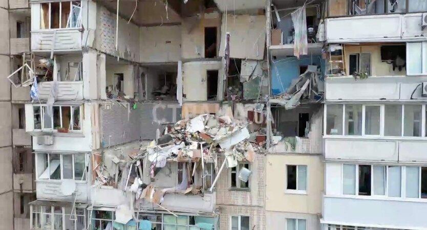 Взрыв на Позняках, взрыв в жилом доме киев
