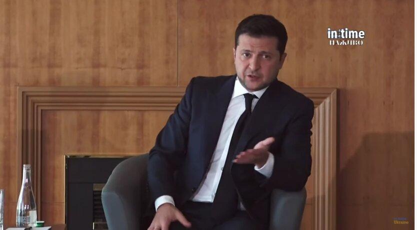 Владимир Зеленский на пресс-конференции
