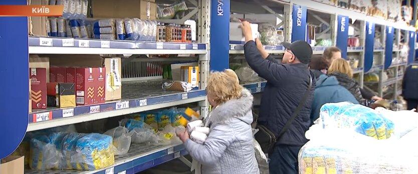 коронавирус, магазины Украины