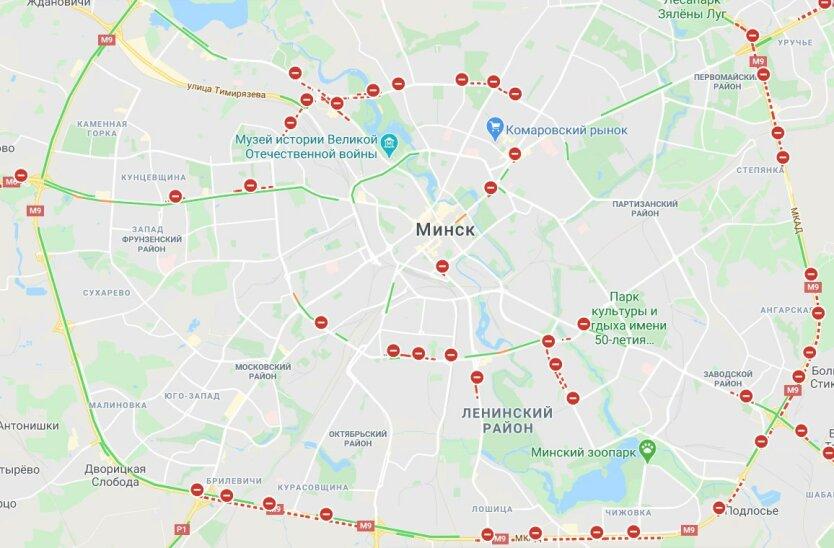 Митингующие дали жесткий отпор силовикам в центре Минска: видео