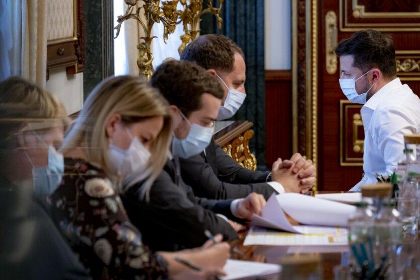 Совещание у Зеленского, фото - пресс-служба президента Украины