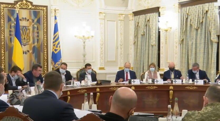 Заседание СНБО, Донбасс, Владимир Зеленский