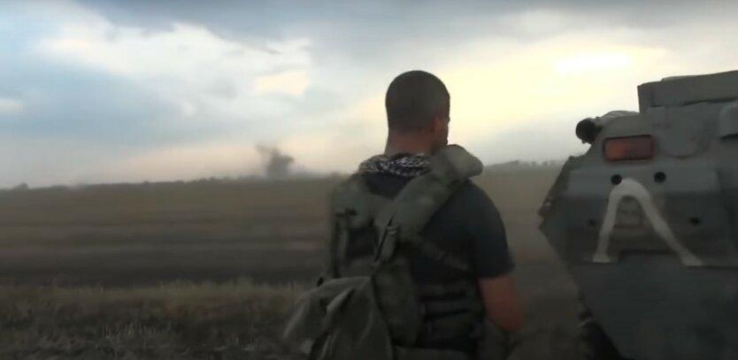 Боевые действия в зоне ООС,война на Донбассе,обстрел позиций ВСУ,террористы на Донбассе