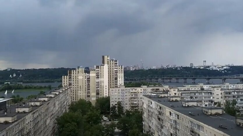 Киевлян предупредили о резком ухудшении погоды в ближайшее время
