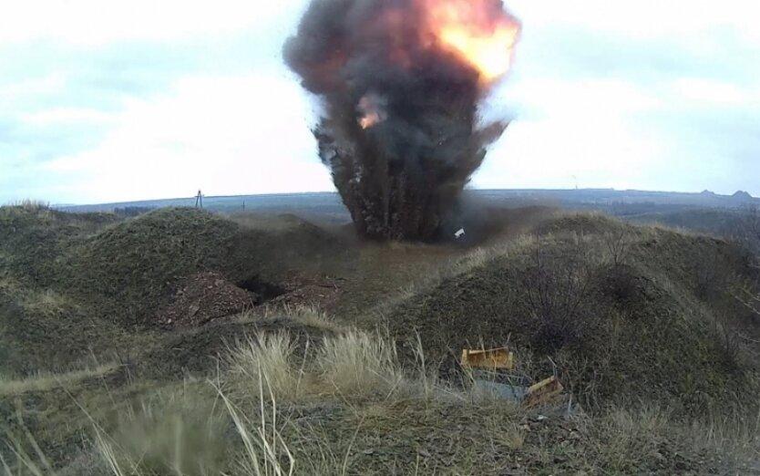взрыв в зоне АТО
