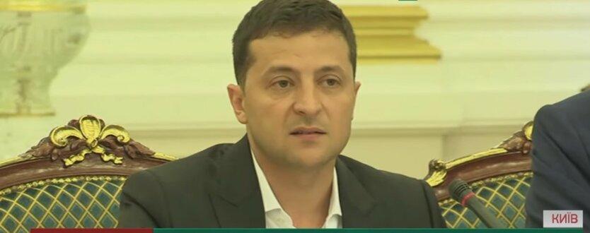Владимир Зеленский, встреча с журналистами, видео-конференция