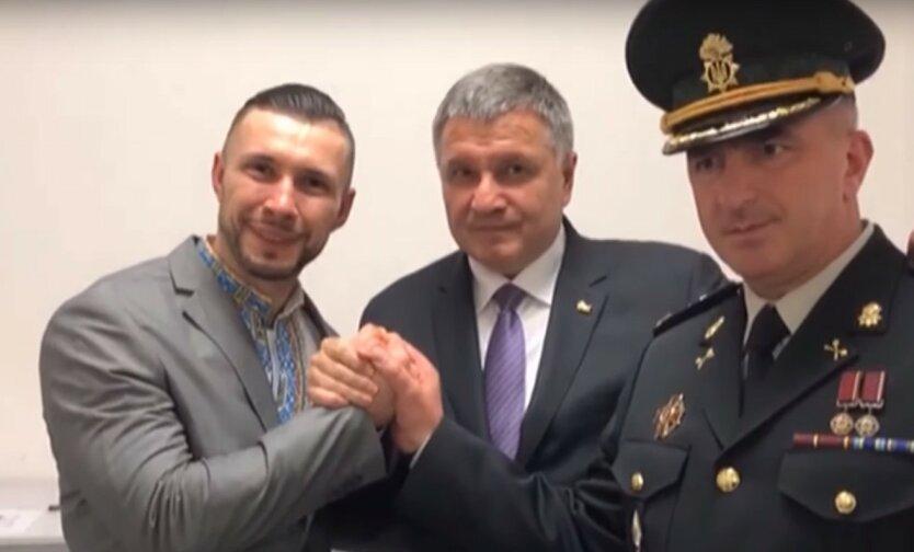 нацгвардеец Маркив, осужденный в Италии и министр МВД Аваков