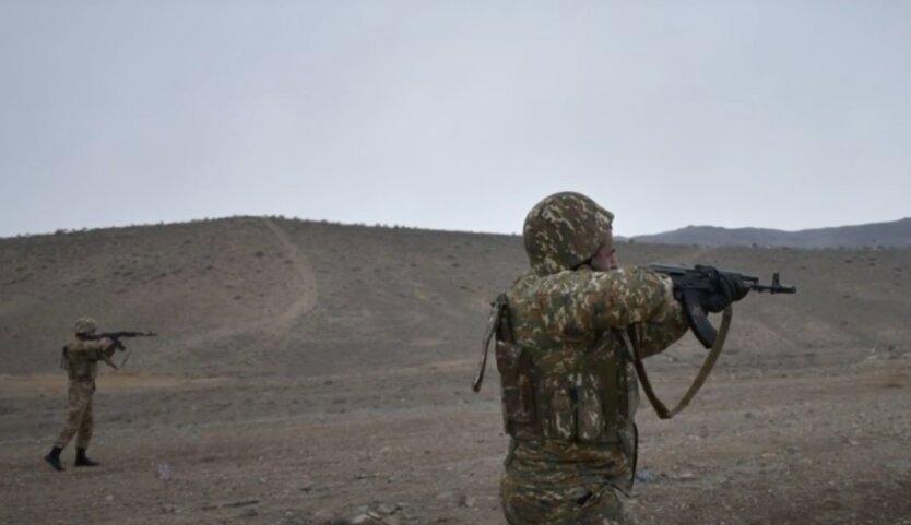 Столкновения на границе Армении и Азербайджана