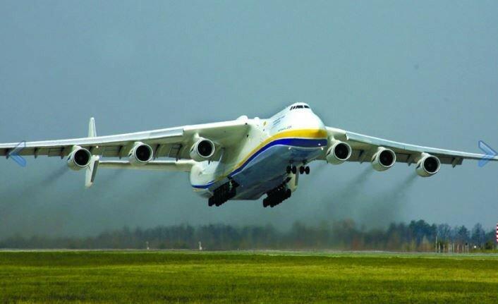Ан-225 взлет