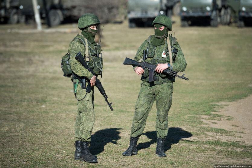 русские солдаты в Крыму2