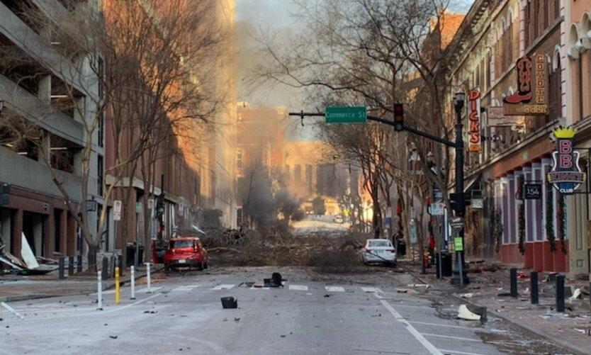 Мощный взрыв в Нэшвилле был преднамеренным, - полиция