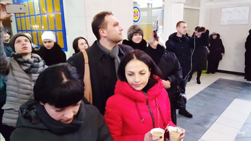 Украина в феврале
