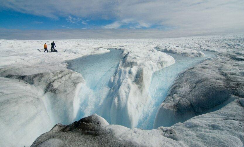 таяние Гренландии