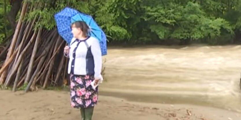 Грозовые дожди в Украине