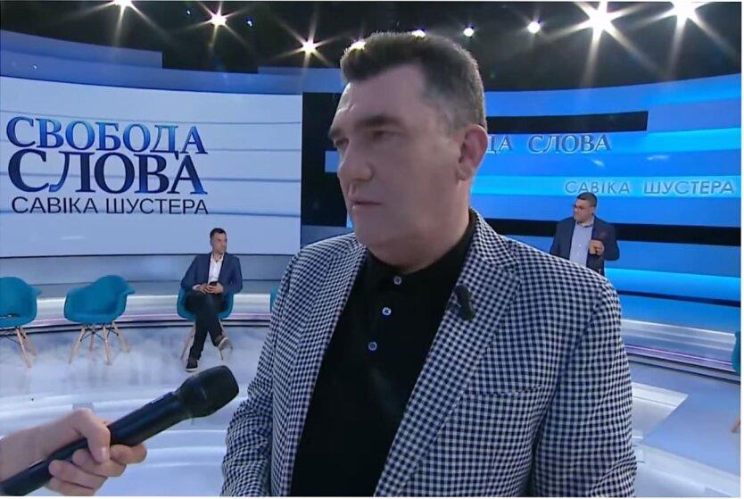 СНБО, Угроза нацбезопасности Украины, Алексей Данилов, Беларусь Ryanair